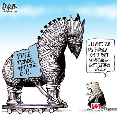an argument against the free trade concept in canada To show the complexity of benefits and threats of free trade 2 trade liberalization concept  free trade is defined as a policy of unrestricted foreign trade with .